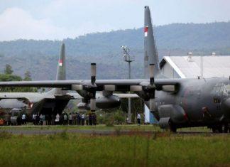 Pesawat-Hercules-TNI-AU