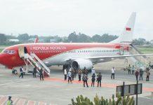 Jokowi-tiba-di-Jayapura
